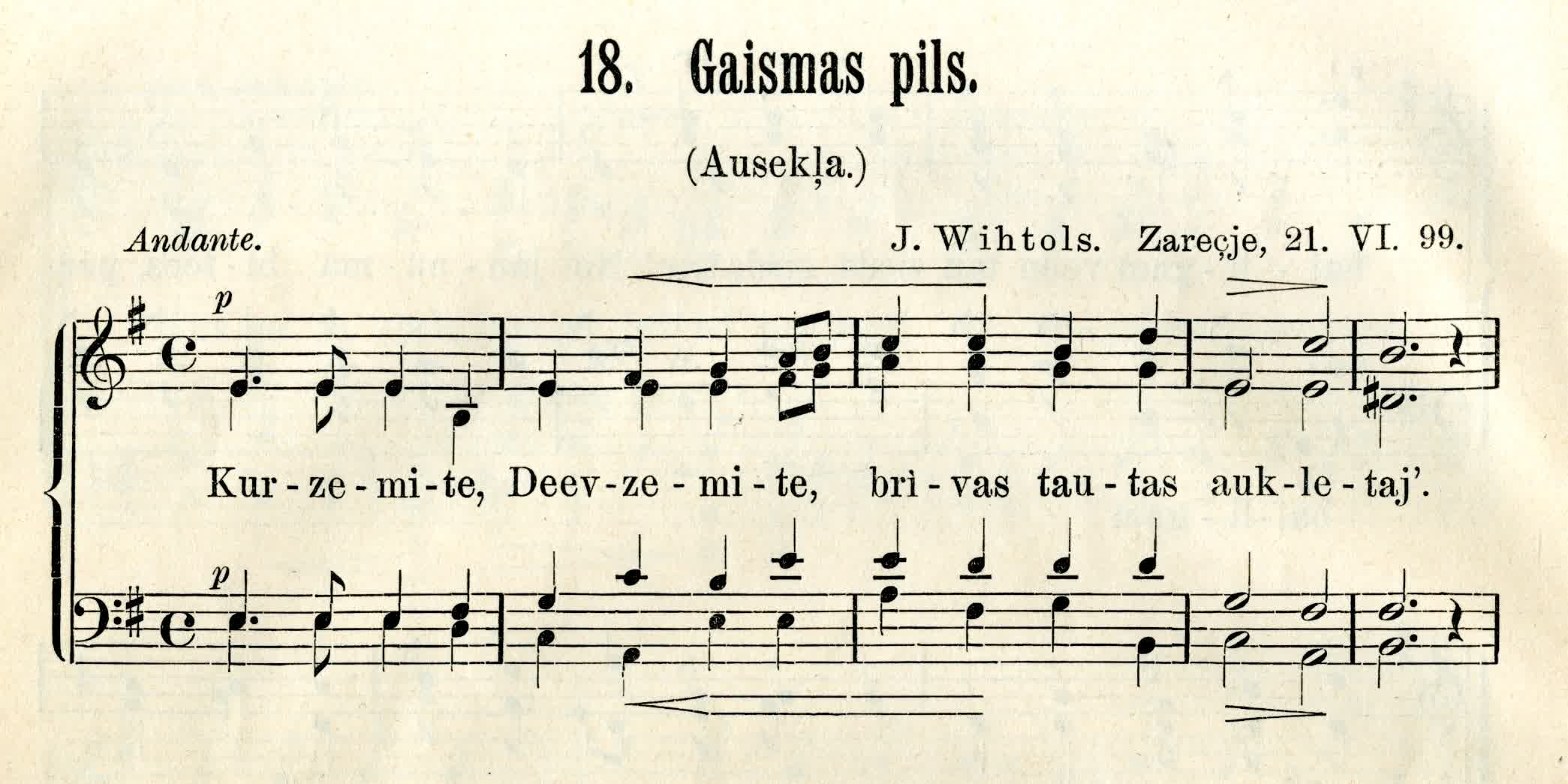 Choral song