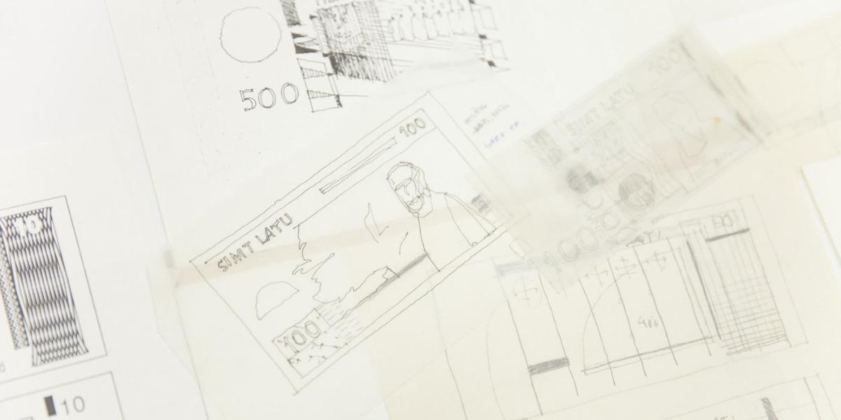 Graphic designer Gunārs Lūsis – 70