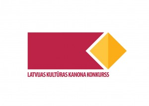 Latvijas Kultūras kanona konkursa logo