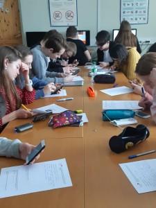 Latvijas Kultūras kanona stunda Salaspils 2. vidusskolas 12. klasē